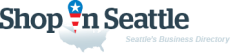 ShopInSeattle. Business directory of Seattle - logo
